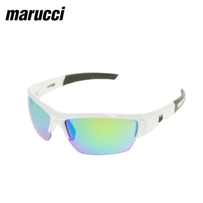マルーチ marucci サングラス メンズ レディース 白い MSNV108-W-GR