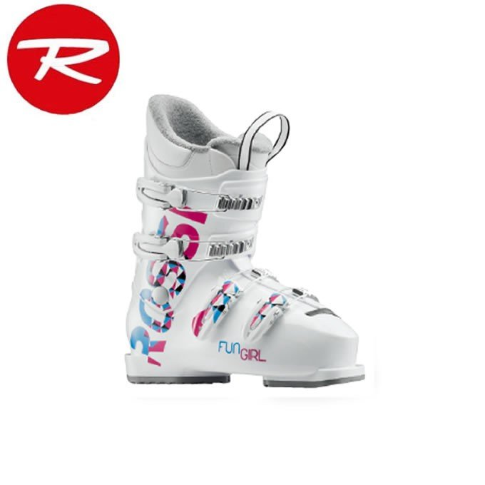 ロシニョール ROSSIGNOL ジュニアスキーブーツ ジュニア FUN GIRL J4 - 白い RBG5080-H