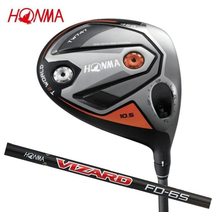 開店祝い 本間ゴルフ HONMA ゴルフクラブ VIZARD ドライバー メンズ メンズ TW747-460 シャフト ドライバー VIZARD FD6, 丹波市:6feae476 --- airmodconsu.dominiotemporario.com