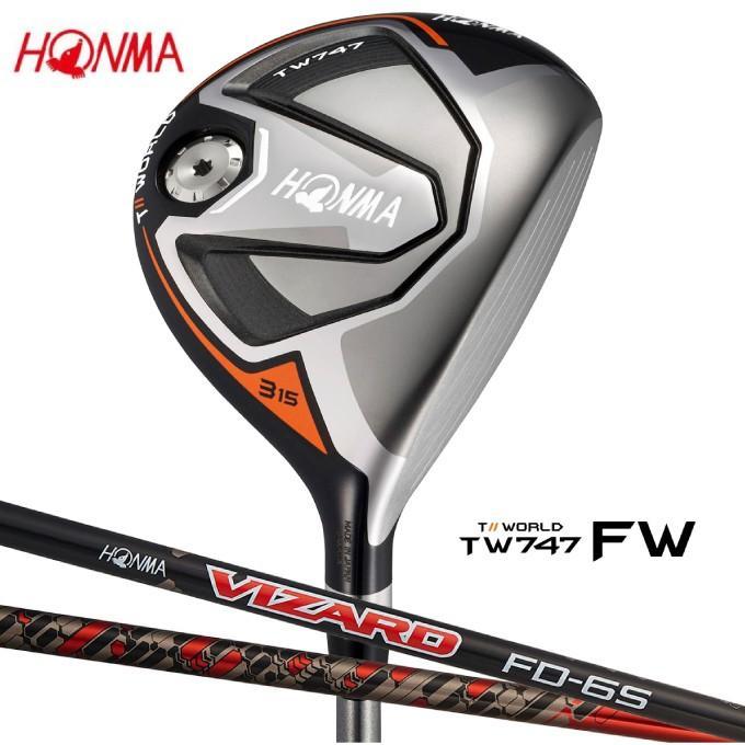 【代引き不可】 本間ゴルフ HONMA ゴルフクラブ フェアウェイウッド メンズ TW747-FW シャフト VIZARD FD6, くるまの電気屋さん スマート ced503a2