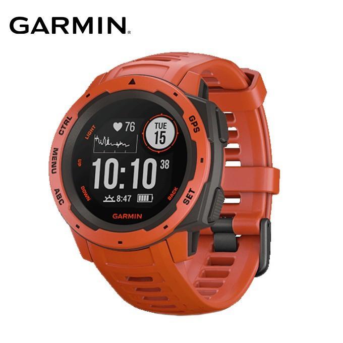 ガーミン ランニングウォッチ メンズ レディース Instinct Flame 赤 010-02064-32 GARMIN