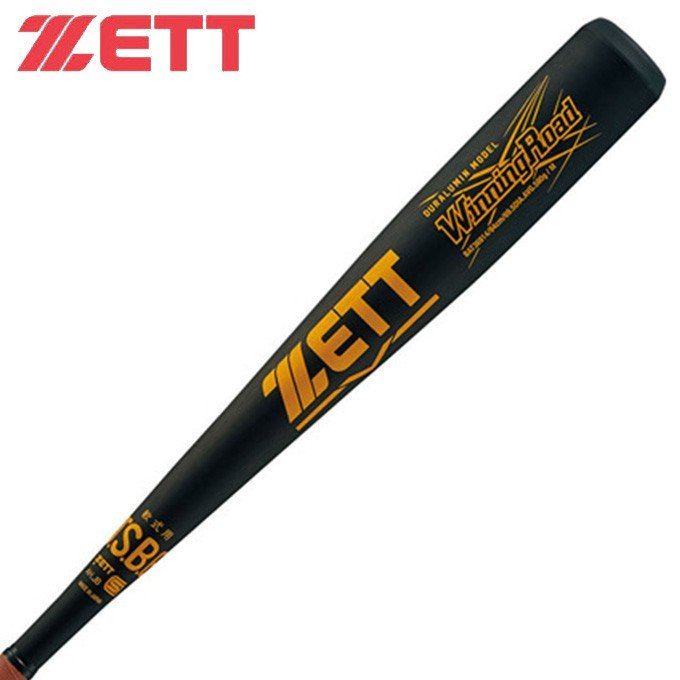 ゼット ZETT 野球 一般軟式バット メンズ 一般 軟式 金属製 バット ウイニングロード 84cm BAT36914 1900