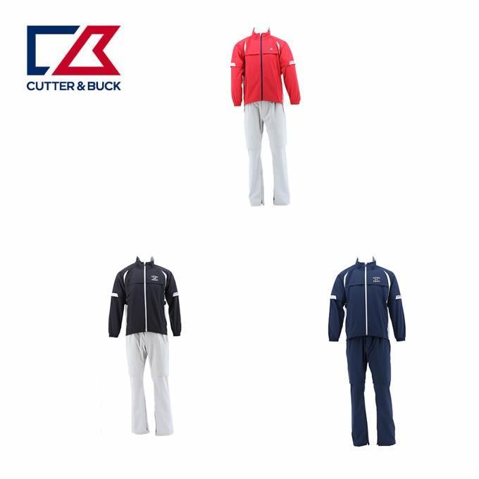 カッター&バック CUTTER&BUCK ゴルフ レインウェア上下セット メンズ ハイパフォーマンスレインウェア CGMNJH00W