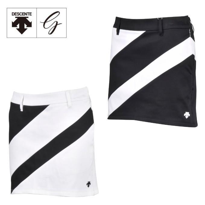 デサントゴルフ DESCENTE GOLF ゴルフウェア スカート レディース ミクロビエントサテンスカート DGWNJE03