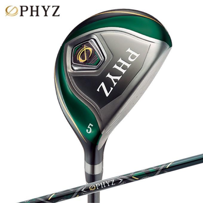 ファイズ PHYZ ゴルフクラブ フェアウェイウッド メンズ PHYZ 5 FAIRWAY WOOD PHYZオリジナルPZ-409Fカーボンシャフト