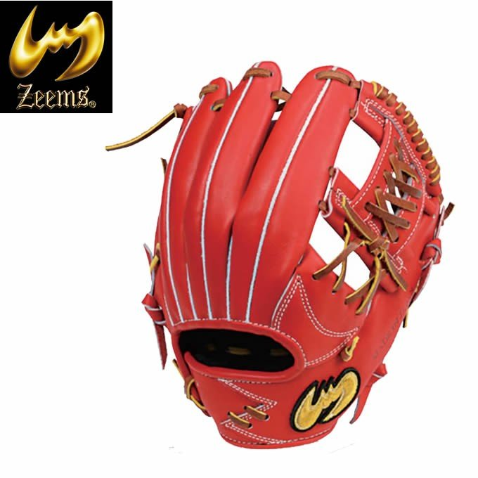 ジームス Zeems 野球 一般軟式グラブ 内野手用 メンズ 軟式 三方親シリーズ αバックスタイル 中型 SV-800CBN