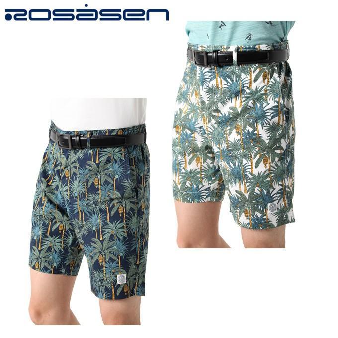 ロサーセン ROSASEN ゴルフウェア スラックス メンズ パームツリープリント 044-79442