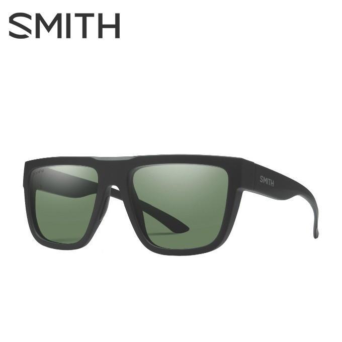 スミス SMITH 偏光サングラス メンズ レディース The Comeback Matte 黒 ザ カムバック マット ブラック THE COMEBACKMATTE BK/CP-GY GR