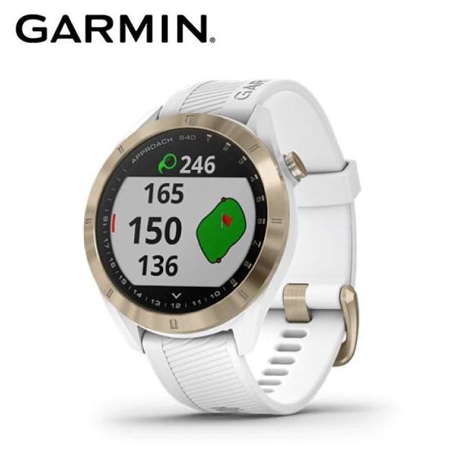 ガーミン GARMIN ゴルフ GPSナビ メンズ レディース Approach S40 白い アプローチ エス40 ホワイト ゴルフウォッチ 010-02140-22