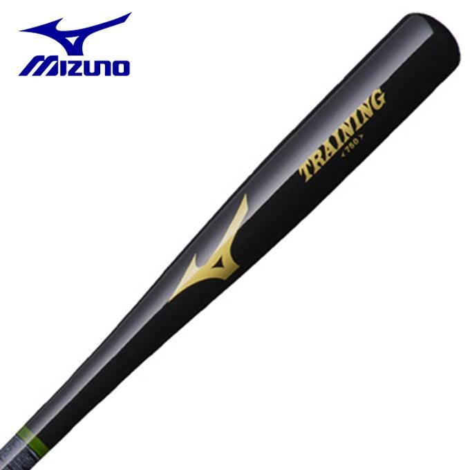 ミズノ 野球 トレーニングバット メンズ レディース 細型トレーニンググリップ太径 木製 84cm 平均750g 1CJWT18684 09 MIZUNO