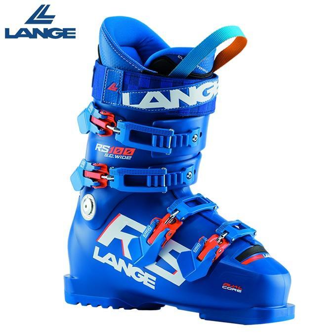 ラング LANGE スキーブーツ メンズ レディース セットアップ 実物 バックルブーツ S.C. RS WIDE ワイド 100