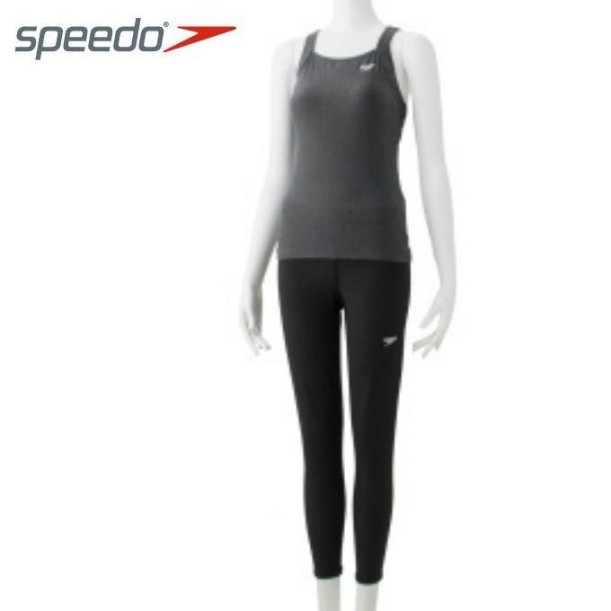スピード speedo フィットネス水着 セパレート レディース ブレイクス レギンスセパレーツ SFW21962 KX