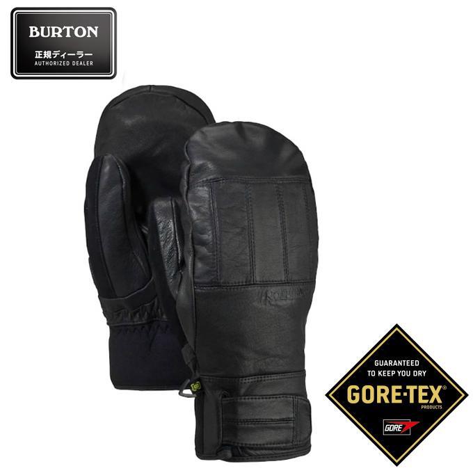 バートン BURTON スノーボードグローブ ミトン メンズ Gondy GORE-TEX ゴア テックス Leather Mitten 103371 001