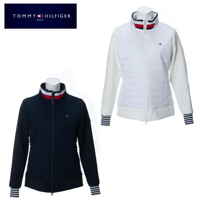 トミーヒルフィガーゴルフ TOMMY HILFIGER GOLF ゴルフウェア ブルゾン レディース ハイブリッドフルジップジャケット THLA977