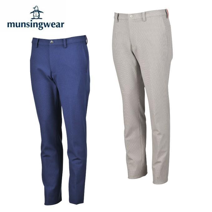 マンシング Munsingwear ゴルフウェア ロングパンツ メンズ ハウンドトゥース360ストレッチパンツ MGMOJD01X