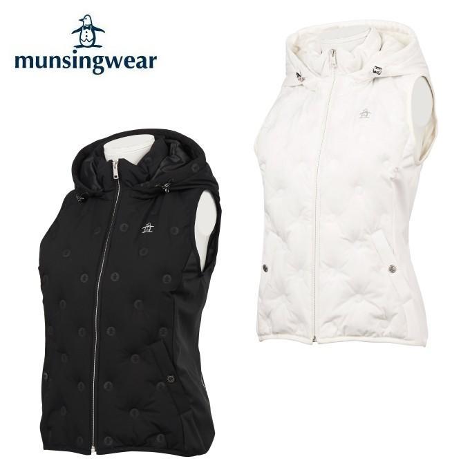 正規 マンシング Munsingwear ゴルフウェア ベスト レディース ヒートナビダウンベスト MGWOGK51, 釜庄 844df179