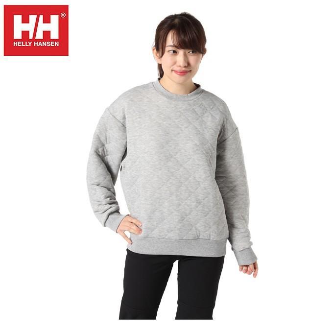 ヘリーハンセン HELLY HANSEN スウェットトレーナー レディース キルトクルー LS HOE31961UW Z