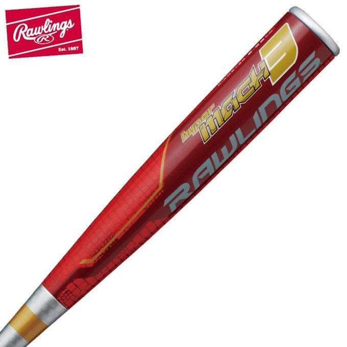 【人気商品!】 ローリングス Rawlings 野球 一般軟式バット ハイパーマッハ3 トップ BR9HYMA3TR, 干潟町 f7c7c41f