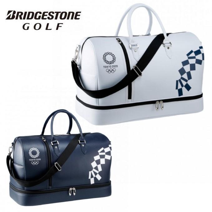 ブリヂストンゴルフ BRIDGESTONE GOLF ボストンバッグ メンズ 東京2020公式ライセンス商品 BB20OP