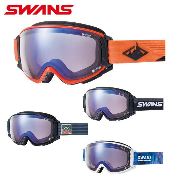 スワンズ SWANS スキー スノーボードゴーグル メンズ レディース 調光ULTRAレンズ ROVO-CU/MDH-SC-PAF