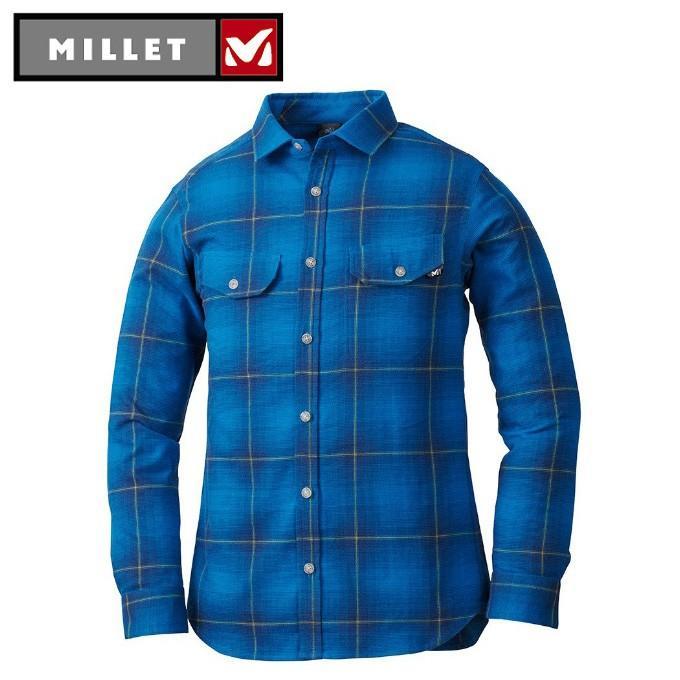 ミレー MILLET 長袖シャツ メンズ クータイ ストレッチ シャツ MIV01732 4107
