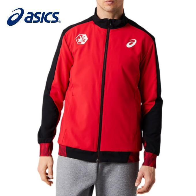 アシックス スポーツウェア メンズ ウーブンジャケット テンカ 2093A031 600 asics