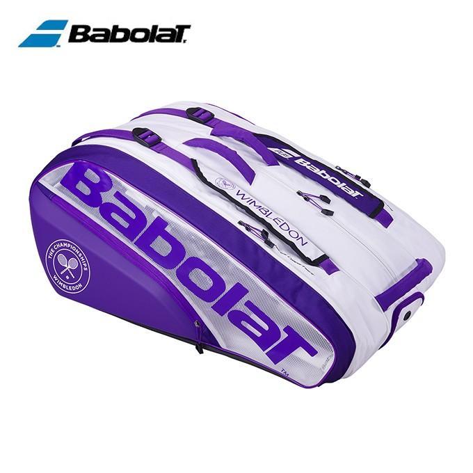最新な バボラ Babolat テニス バドミントン BB751205 テニス バドミントン ラケットバッグ ウィンブルドンラケットバッグ12本 BB751205, カノアシグン:3cfe58c8 --- airmodconsu.dominiotemporario.com