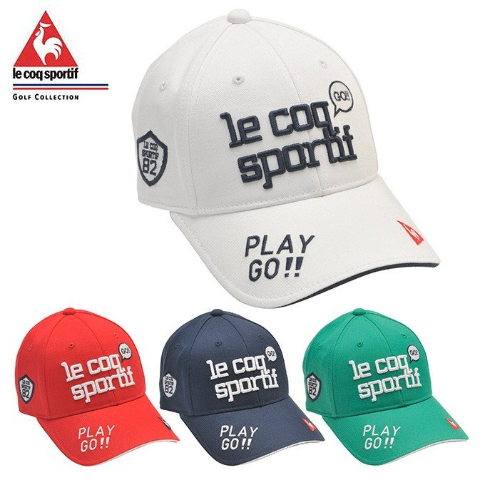 ルコック 人気 le coq sportif ゴルフ コットンツイルキャップ QGCPJC00 正規激安 キャップ レディース