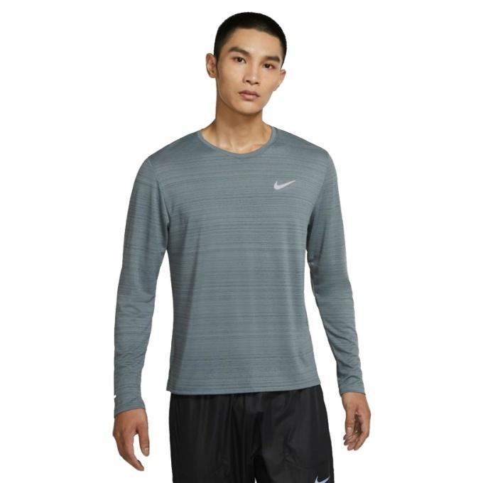 ナイキ ランニングウェア Tシャツ 長袖 メンズ ドライフィット Miler Top CU5990-084 宅配便送料無料 Men#039;s NIKE 本店 Long-Sleeve Running