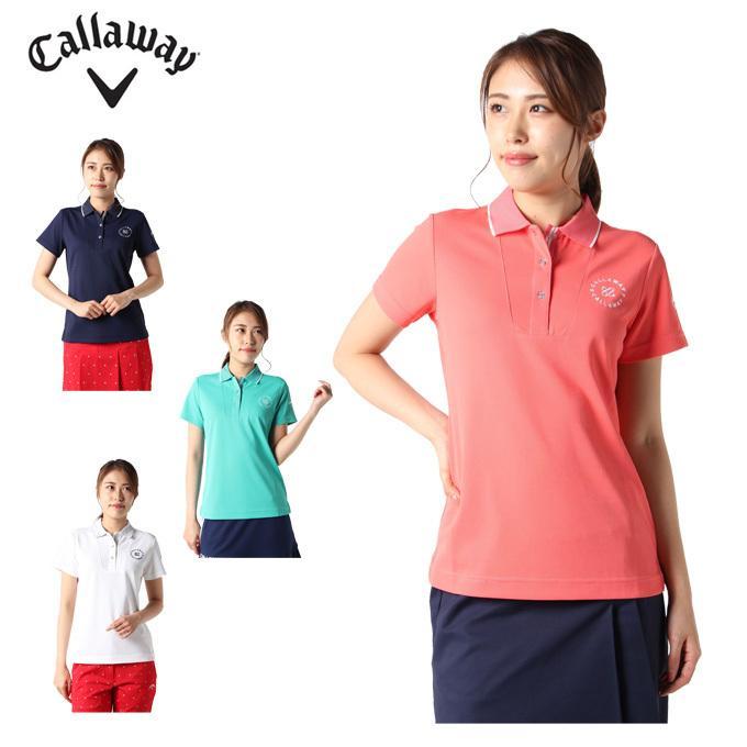 キャロウェイ ゴルフウェア ポロシャツ 半袖 レディース 241-1134811 半袖ポロシャツ Callaway 通信販売 最新
