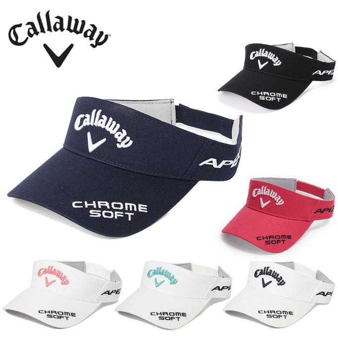 キャロウェイ ゴルフ サンバイザー メイルオーダー レディース 241-1991808 Callaway 特価品コーナー☆ コットンツイルツアーバイザー