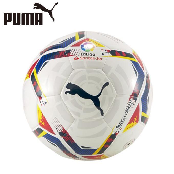 プーマ サッカーボール 5号球 ラ リーガ LALIGA 1 PUMA 083507-01 MS 爆買い新作 ACCELERATE 5G 美品 ボール