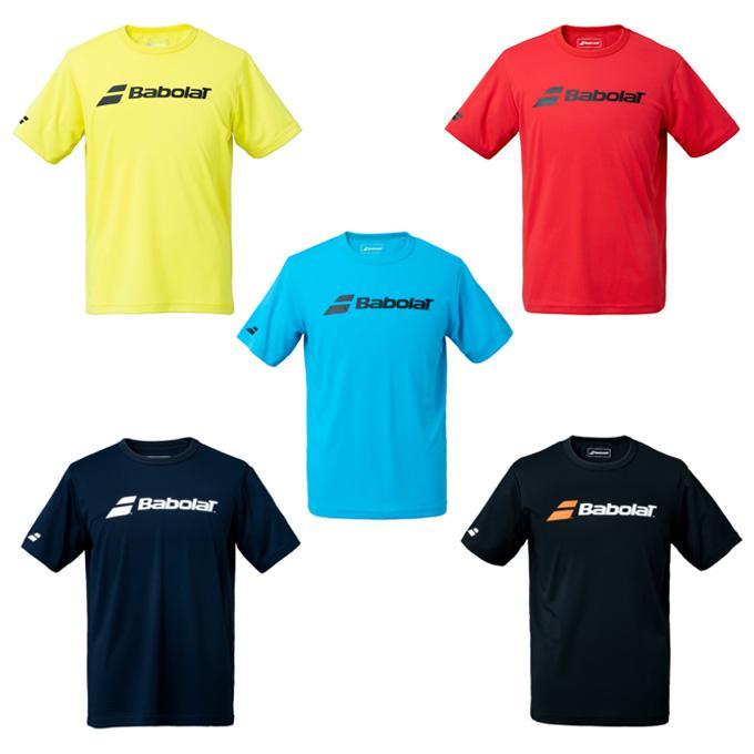 バボラ 実物 Babolat 品質保証 テニスウェア Tシャツ BUP1510C 半袖 CLUBショートスリーブシャツ メンズ