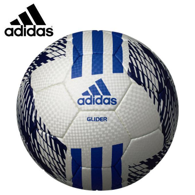 アディダス サッカーボール 4号 返品送料無料 検定球 AF4642WB 手縫い 人気ショップが最安値挑戦 adidas スリーストライプスグライダー