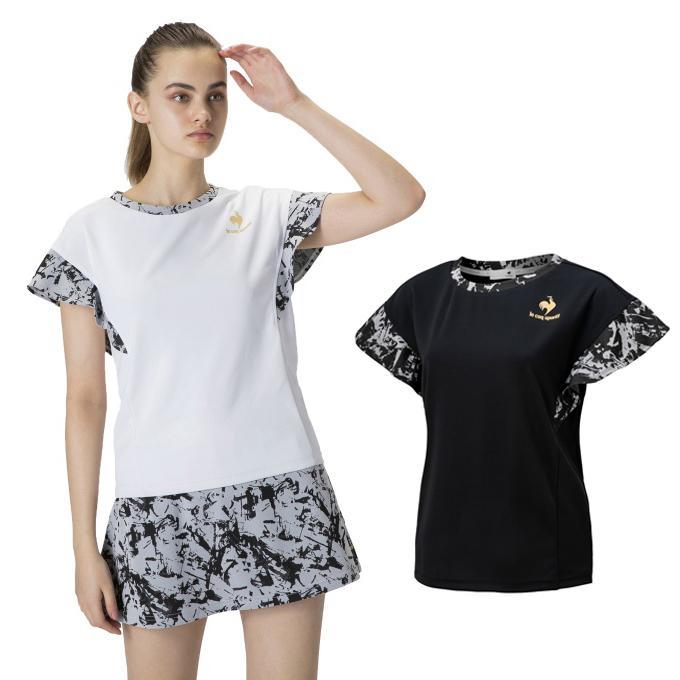 ルコック le coq sportif 爆買いセール テニスウェア レディース Tシャツ 高級 半袖 半袖シャツ QTWSJA08