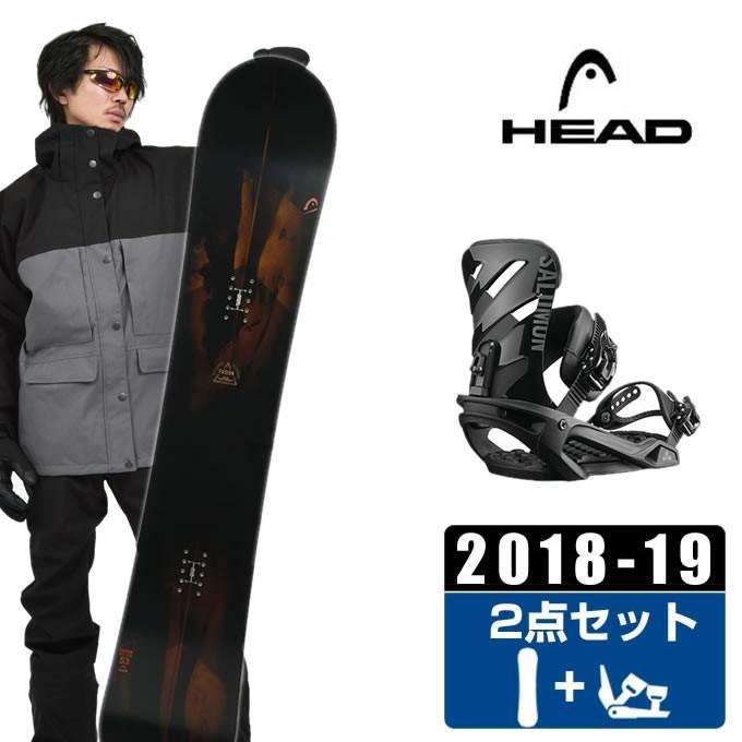 ヘッド HEAD スノーボード 2点セット メンズ FUSION + RHYTHM 黒 ボード+ビンディング