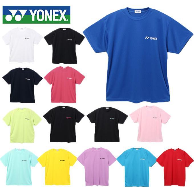 ヨネックス 中古 YONEX ビッグロゴTシャツ RWHI1301 テニスウェア レディース バドミントンウェア アウトレット☆送料無料 od メンズ