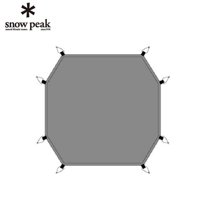 スノーピーク snow peak グランドシート ドックドーム Pro.6 グランドシート SD-506-1 od