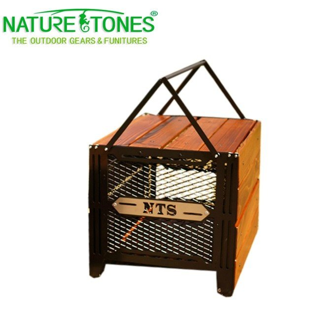 ネイチャートーンズ NATURE TONES アイアングリルテーブル サイドアップボックス&テーブルL SBT-DB-L od