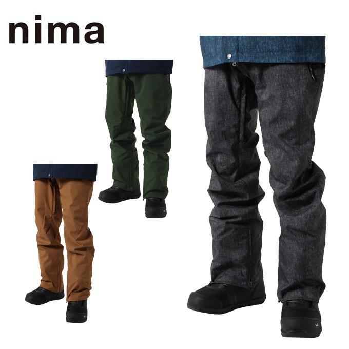 ニーマ(nima) スノーボードウェア パンツ メンズ SNB PT NB-5018 od
