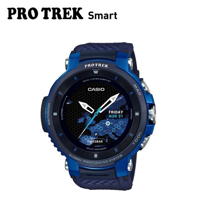 プロトレック PRO TREK ランニング 腕時計 メンズ レディース PRO TREK Smart WSD F30 BU run