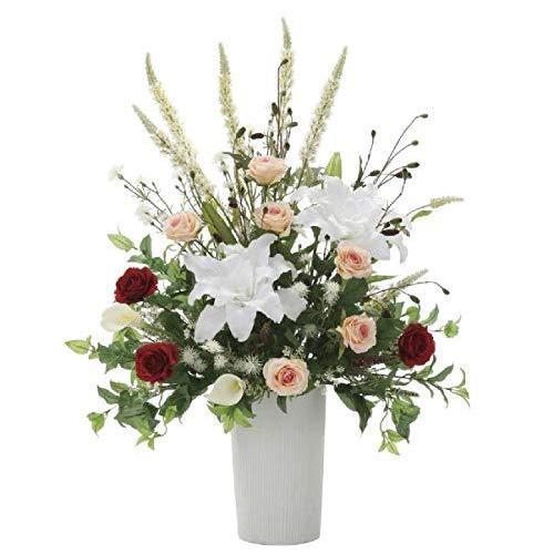 光触媒 光の楽園 トリムカサブランカアートフラワー 造花