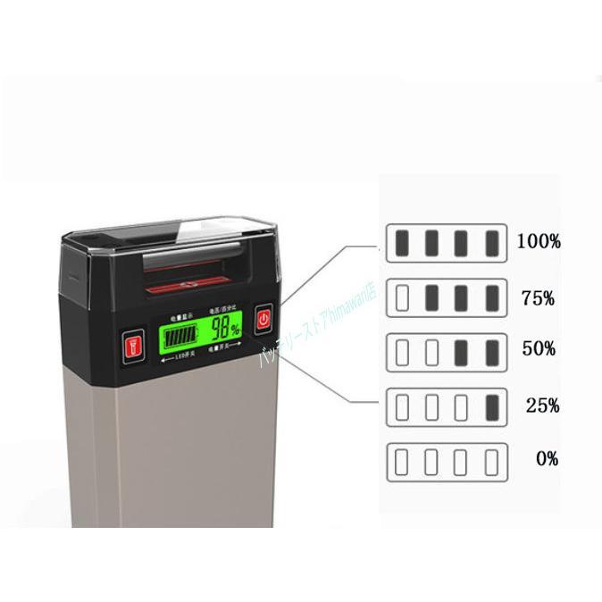 新製品 超大容量:20000mAhダイワシマノ電動用互換バッテリー充電器セット himawari111 12
