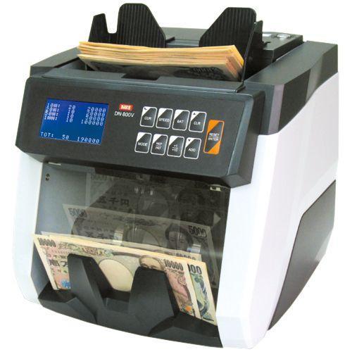 混合金種 紙幣計数機 ノートカウンター(DN-800V) メーカー:ダイト