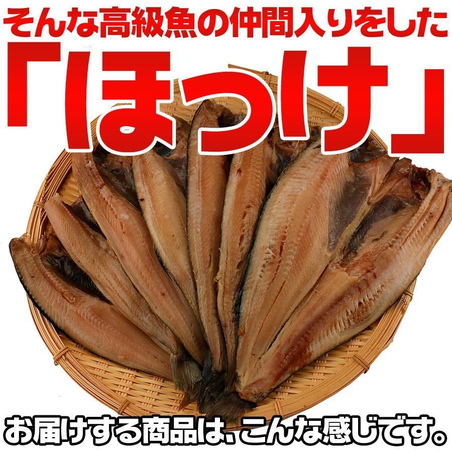 送料無料 干物 ホッケ ほっけ 干物 約1kg 5枚以上 訳あり わけあり ワケアリ 特大 肉厚 ギフト|himono-ya|03