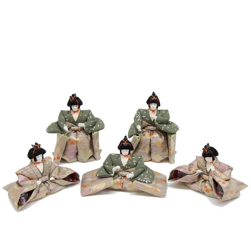 雛人形 アウトレット品 五人囃子単品 三五 幅95cm 18ya1054