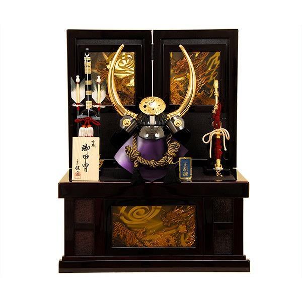 五月人形 K-35 黒田長政 兜収納飾り 【人形の佳月】【送料無料】