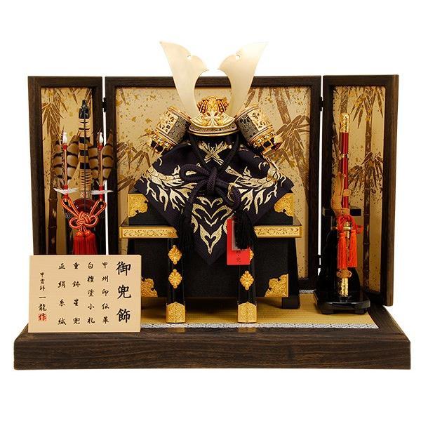 五月人形 K-305 上杉謙信公 兜平飾り 【佳月オリジナル】【人形の佳月】【送料無料】
