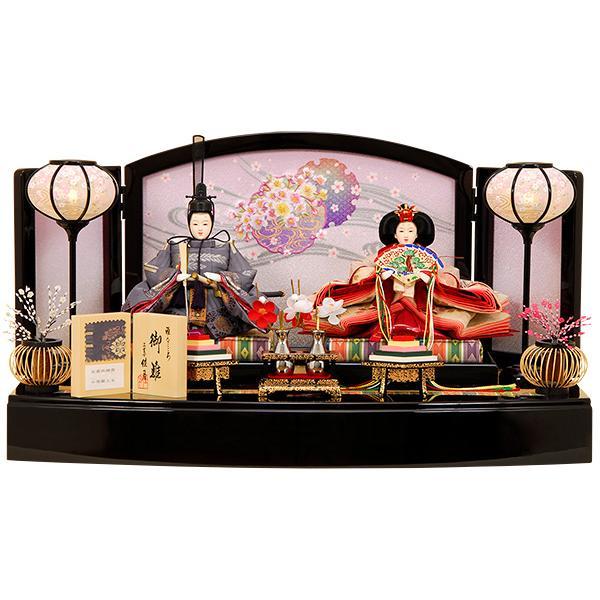 雛人形 K12 ひな人形 人形の佳月 佳月オリジナル 送料無料 京都西陣帯 3段飾り 高級品