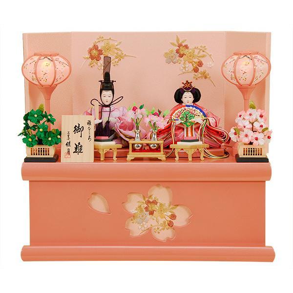 雛人形 K302 ひな人形 人形の佳月 収納飾り 平飾り 高級品 送料無料